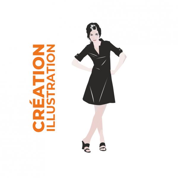 création illustration